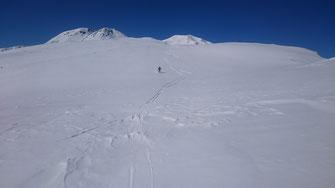 北弥陀ヶ原の雪原