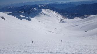 ヒルバオ雪渓