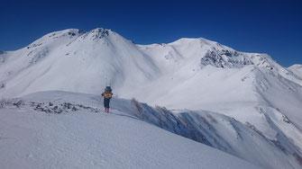 白山北方稜線