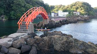経島の太鼓橋
