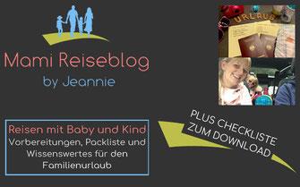 Reisen mit Baby und Kind: Checkliste und Tipps