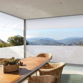 Warema Fenstermarkise mit Panoramafenster