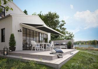Terrassen- und Balkonmarkisen von markilux