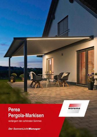 Download Broschüre WAREMA Pergola Markisen