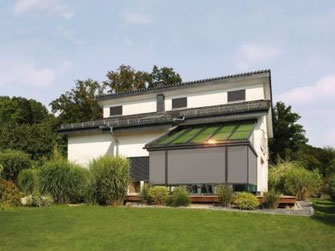 Solarlux Terrassenüberdachung