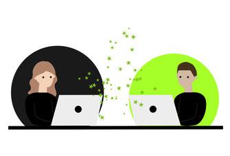 Richtig gut remote zusammen arbeiten | Unterschied & Macher