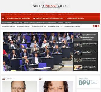 BundesPressePortal