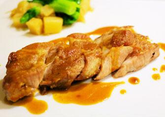 Hot plate Tokyo Tonteki (pork steak), NIPPATI, HibiyaOedoMatsuri