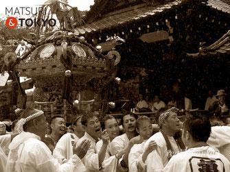 牛嶋神社大祭, 各町神輿連合宮入, 亀沢三丁目, 2017年9月15日