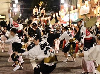 日比谷大江戸まつり 2019, お祭りパレード, 阿波踊り, 参加出演者, 東京天水連