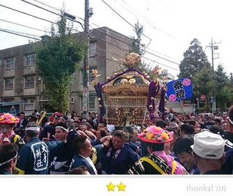 門前人さん:大原神社神輿@下総三山の七年祭り