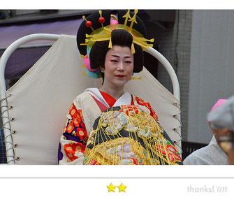 カエルさん:品川宿場祭り