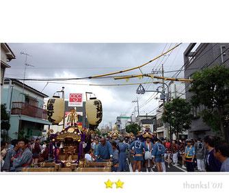 まさヤンさん:梅田稲荷神社例大祭