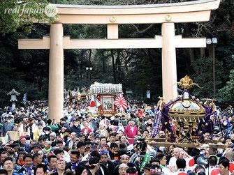 建国祭, 2020年2月11日開催, 奉祝パレード, 神輿パレード, 明治神宮,