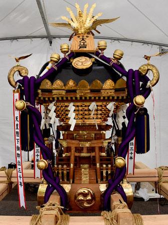 日比谷大江戸まつり 2019, お祭りパレード, 参加出場神輿, 島尻自治会