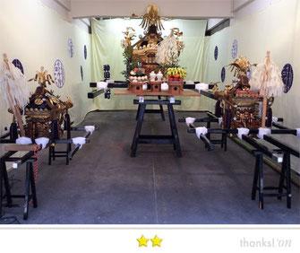岡倉司郎さん:神田和泉町大中小神輿