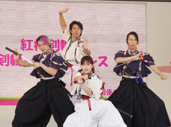 日比谷大江戸まつり 2019, ステージ出演, 殺陣&剣舞,紅桜剣舞会