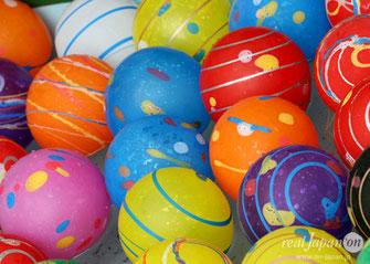 Yo-yo balloon (water balloon) fishing, Matsuri Stalls, hibiya oedo matsuri