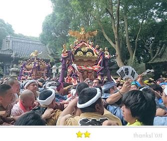 門前人さん:川口神社大潮祭
