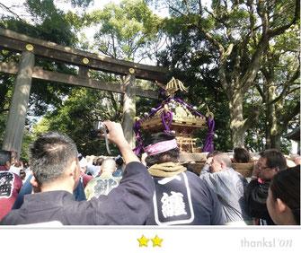 千囃連さん: 明治神宮 建国祭