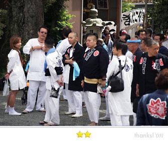 横須賀 河友睦さん:棟岩院祭