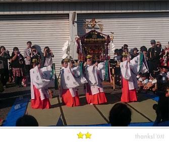 門前人さん:水神社祭礼