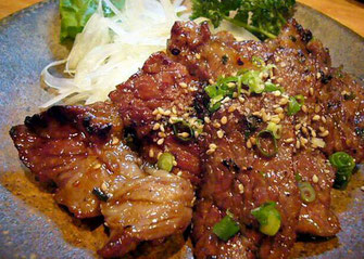 Grilled Hitachi Beef skirt steak, Teppan Dining Danran