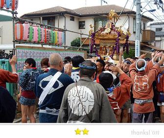 svanejyuさん:王子神社例大祭