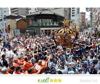 八重垣写真館さん:つきじ獅子祭
