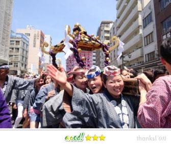 横山秀行さん:三社祭