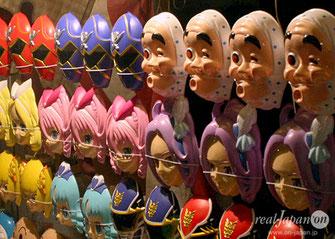 Mask, Matsuri Stalls, hibiya oedo matsuri