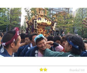 恵利子さん:川崎市民祭