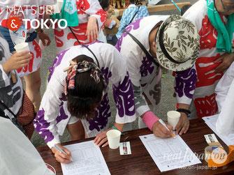 平成28年度 活動報告, 羽田まつり,2017年7月30日,撮影取材及び、東京2020 五輪神輿実現に向けた署名活動,協力:羽田神社