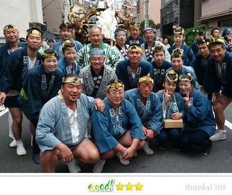 鳥越太郎さん:鳥越祭人會と愉快な仲間達