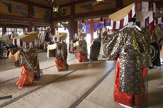 "Traditional Japanese dance ""Kappore"" Performance, Mitsue-ryu Edo Kappore"
