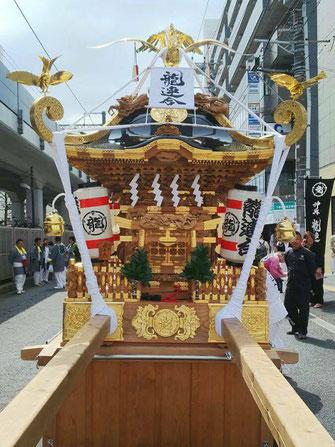 日比谷大江戸まつり 2019, お祭りパレード, 参加出場神輿, 龍連合