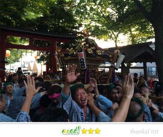 恵利子さん:大門八坂神社祭礼