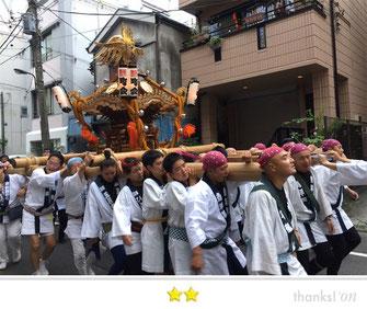 JPさん:牛嶋神社祭礼