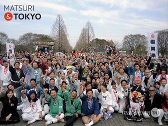 平成29年度 活動報告, 第8回 東日本大震災・復興祭,2018年3月18日,撮影取材及び、東京2020 五輪神輿実現に向けた署名活動,協力:NPO地域文化風習振興会