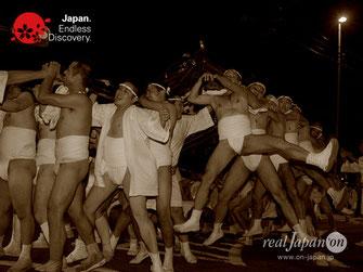 大和田氷川神社, 2017年7月29日, 大和田はだか神輿, やんよー, ふんどし