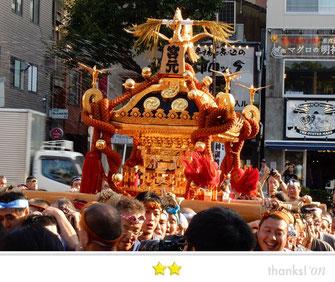 svanejyuさん:富岡八幡宮例大祭