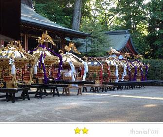 影山 智明さん:大国魂神社 くらやみ祭り