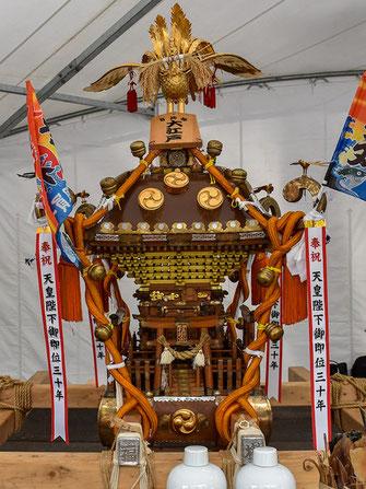 日比谷大江戸まつり 2019, お祭りパレード, 参加出場神輿, 福樹會