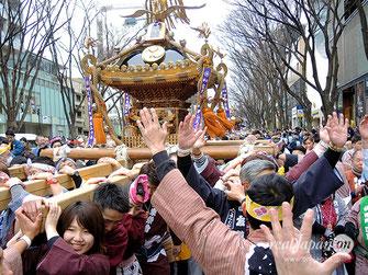建国祭, 2020年2月11日開催, 奉祝パレード, 神輿パレード, 表参道原宿