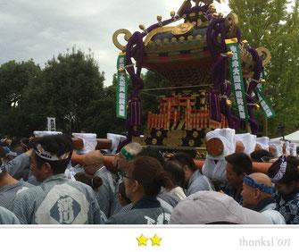 大鐡さん:大江戸神輿まつり