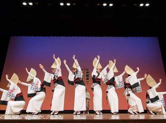 日比谷大江戸まつり 2019, お祭りパレード, 阿波踊り,弁慶連