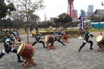 Dengaku Mai・Shinji Binzasara Mai, Prayer dance for good harvest, Shinto ritual dance, Shinji Binzasara Kai
