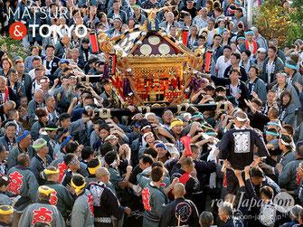 平成29年度 活動報告, 花畑大鷲神社式年大祭,2017年10月8日, 撮影取材, 協力:花畑大鷲神社