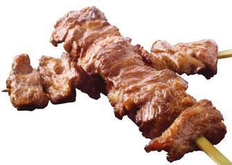 Joshu style skewer grilled beef, Café Kokoro, hibiya oedo matsuri