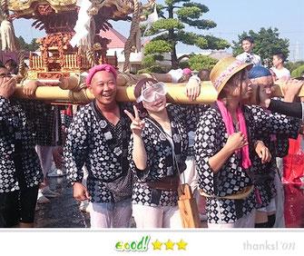 門前人さん:八重垣神社 祇園祭